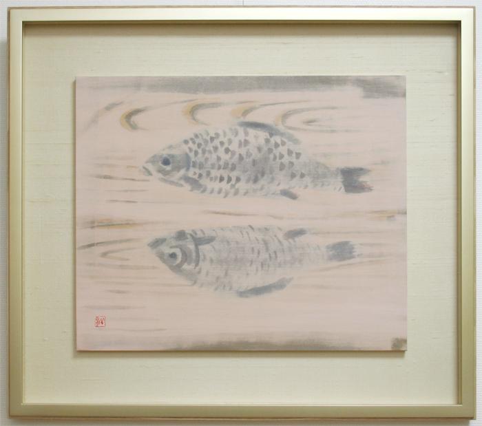 EB013_湖の町---魚